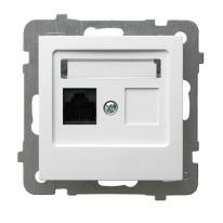 AS (biały) - gniazdo komputerowe GPK-1G/K/m/00