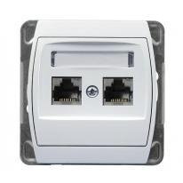 gazela-bialy-gniazdo-komputerowe-gpk-2j-x2