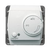 Gazela (biały) - regulator temperatury RTP-1J/m/00