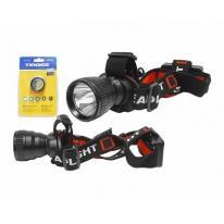 Latarka czołowa LED 5W TS-1101 zoom Tiross