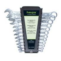Komplet kluczy płasko-oczkowych (12 elementów) Haupa Haupa