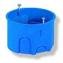 Puszka podtynkowa 40mm głębokości z wkrętami niebieska Z60Kw - 34049203