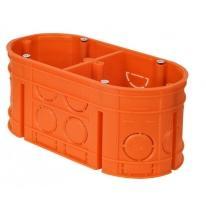 Puszka podtynkowa 2-krotna 60mm pomarańczowa M2-krotna 60F - 33160008