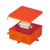 Puszka n/t przeciwogniowa E90 105x105x40mm IP54 czerwona - 80800008
