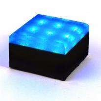 Świecąca kostka brukowa - Kwadrat 10x10 pow. chropowata Bruklux