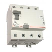 Wyłącznik różnicowoprądowy RX3 40A 30mA AC 4P Legrand Legrand