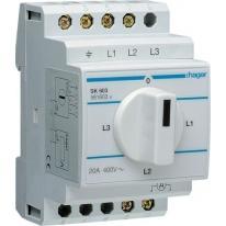 Przełączniki amperomierza SK603 Hager