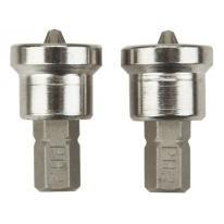 Końcówki wkrętakowe PH2x25mm 2 szt. 1/4 06-040 NEO TOOLS