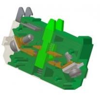 Element łączeniowy typu EF22X zielony Promet