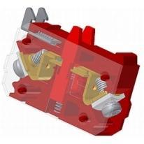 Element łączeniowy typu EF22Y czerwony Promet