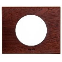 Legrand Celiane drewno mahoń - ramka 1 Legrand