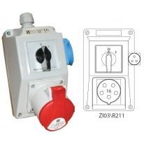 Zestaw instalacyjny 0-I 16A/5 ZI03R211