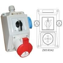 Zestaw instalacyjny 0-I 32A/4 1x230V ZI05R341