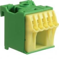 Blok samozacisków ochronny zielony 6-zaciskowy KN06E Hager