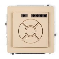 Deco (beżowy) - elektroniczny sterownik roletowy