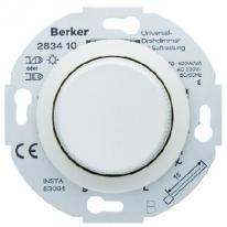 Berker 1930 biały - ściemniacz uniwersalny Berker