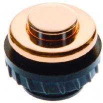 Berker TS - przycisk złoty