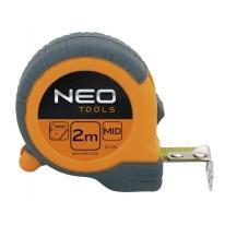 Miara zwijana stalowa, magnetyczna końcówka 5m x 25mm 67-115 NEO TOOLS