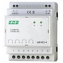 Moduł rozszerzeń wyjść przekaźnikowych z wyjściem MODBUS RTU - MR-RO-4 F&F