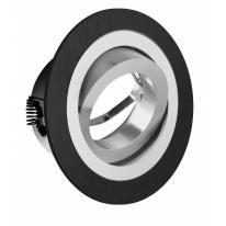 Oprawa okrągła aluminium Morena czarna x1 GTV