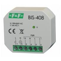 Przekaźnik bistabilny BIS-408 LED włącz-wyłącz F&F