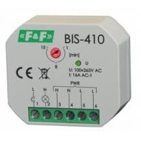Przekaźnik bistabilny BIS-410 LED z wyłącznikiem czasowym F&F