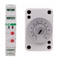 Przekaźnik czasowy uniwersalny PCU-518 DUO 230V AC / 24V AC/DC F&F