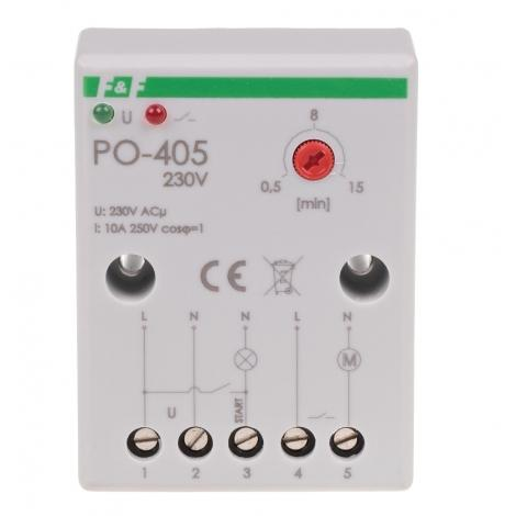 Przekaźnik czasowy z opóźnionym opadaniem PO-405 F&F