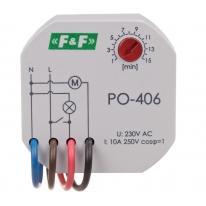 Przekaźnik czasowy z opóźnionym opadaniem PO-406 F&F