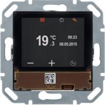 Hager KNX easy - Regulator temperatury z wyświetlaczem i portem magistralnym Hager