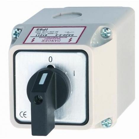 podłącz 30 amperowy wyłącznik