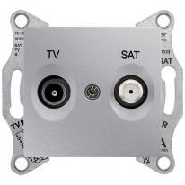 Sedna (aluminium) - gniazdo RTV-SAT (końcowe)