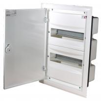 Rozdzielnica podtynkowa ERP 2x18 drzwi metal ETI ETI Polam