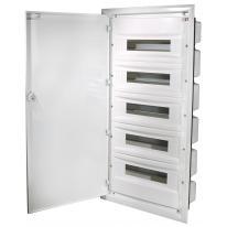 Rozdzielnica podtynkowa ERP 5x18 drzwi metal ETI ETI Polam