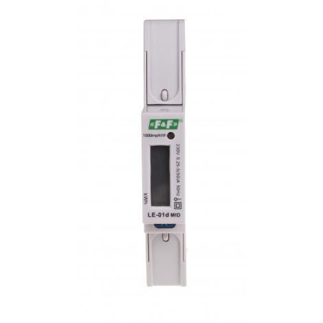 Licznik energii elektrycznej 1-fazowy LE-01d MID F&F