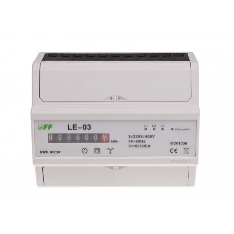 Licznik energii elektrycznej 3-fazowy LE-03 F&F