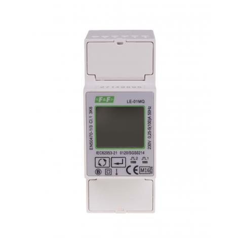 Licznik energii elektrycznej 1-fazowy LE-01MQ MID RS-485 F&F