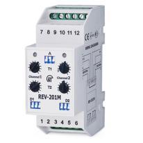 Mikroprocesorowy przekaźnik czasowy REV-201M Novatek Electro