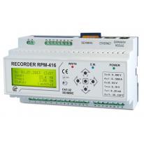 Mikropocesorowy rejestrator parametrów sieci RPM-416 Novatek Electro