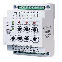 Uniwersalny moduł zabezpieczenia silników asynchronicznych UBZ-301 10-100A Novatek Electro