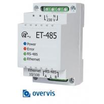 Konwerter interfejsów - ET-485 + OVERIS Novatek Electro