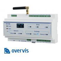 Sterownik do sms-owego systemu powiadomienia o awariach urządzeń MODBUS - EM-486 + OVERIS Novatek Electro