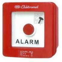 Wyłącznik alarmowy podtynkowy z zamkiem WAZp-1s Elektromet Dzierżoniów