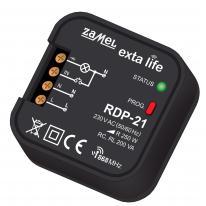 Exta Life - radiowy ściemniacz dopuszkowy 1-kanałowy RDP-21 Zamel