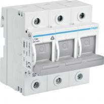 Rozłącznik bezpiecznikowy poziomy D02 3P 63A 400V L73M