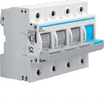 Rozłącznik bezpiecznikowy poziomy D02 3P+N 63A 400V L76M