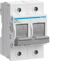 Rozłącznik bezpiecznikowy poziomy D02 2P 63A 400V L72M