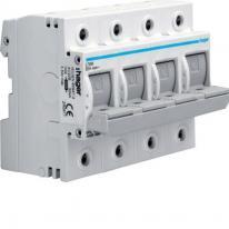 Rozłącznik bezpiecznikowy poziomy D02 4P 63A 400V L74M