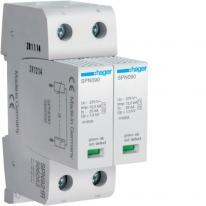 Ogranicznik przepięć 2P ze stykiem sygnalizacyjnym, MOV T1+T2, 12,5 kA, TN-S - SPN921R Hager