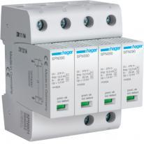 Ogranicznik przepięć 4P MOV T1+T2 12,5 kA TN-S - SPN901